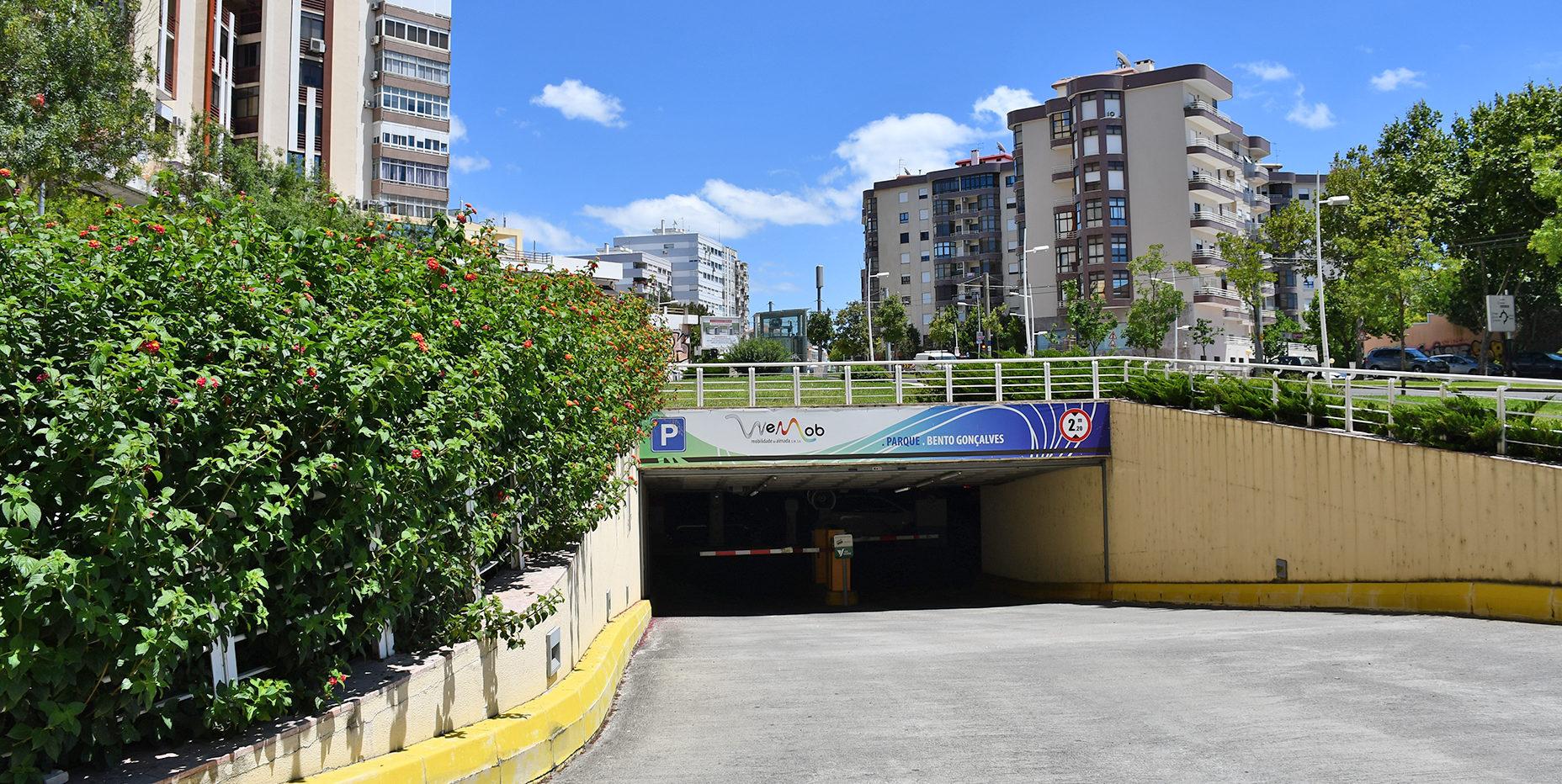 Entrada do Parque Bento Gonçalves